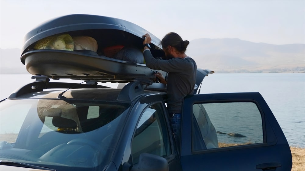 Roof boxes for car